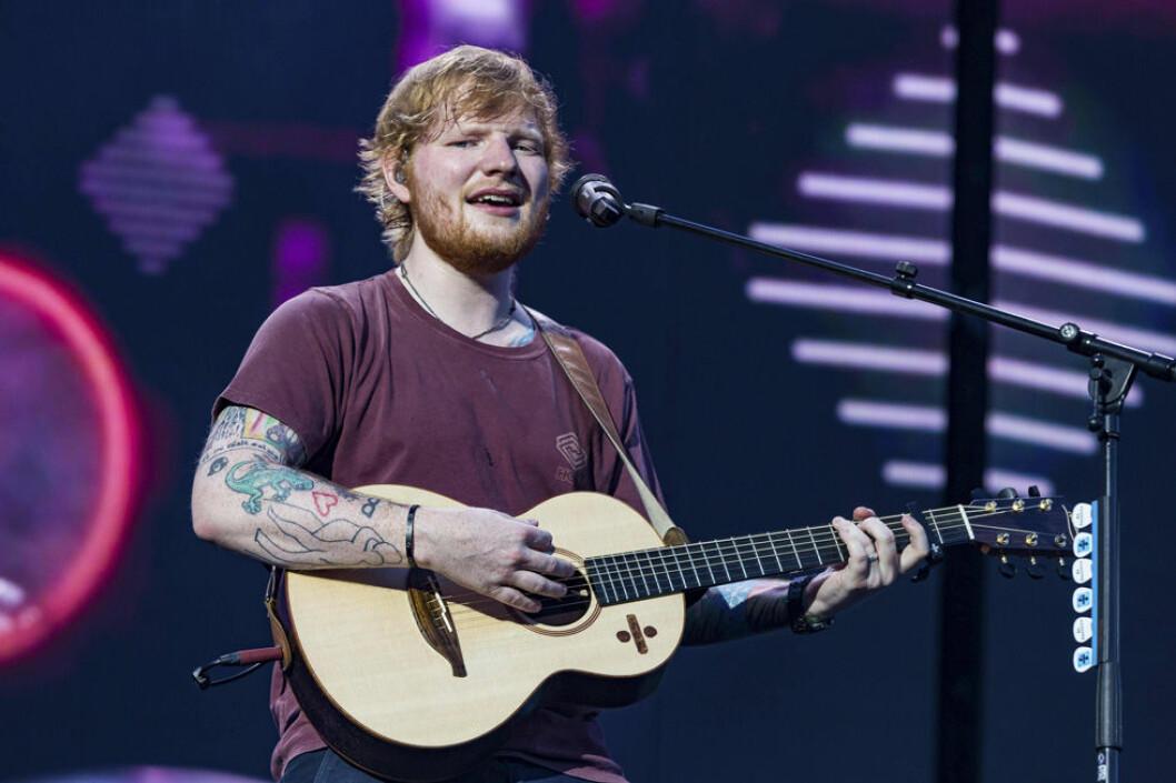 Svenskarna är som tokiga i Ed Sheeran enligt Spotifys topplista över de mest lyssnade låtarna de senaste tio åren.