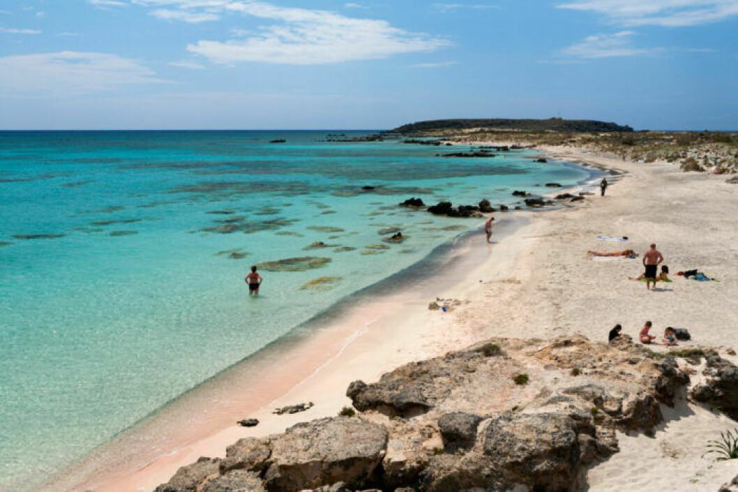 Strandtips: Elafonissi Beach, Grekland