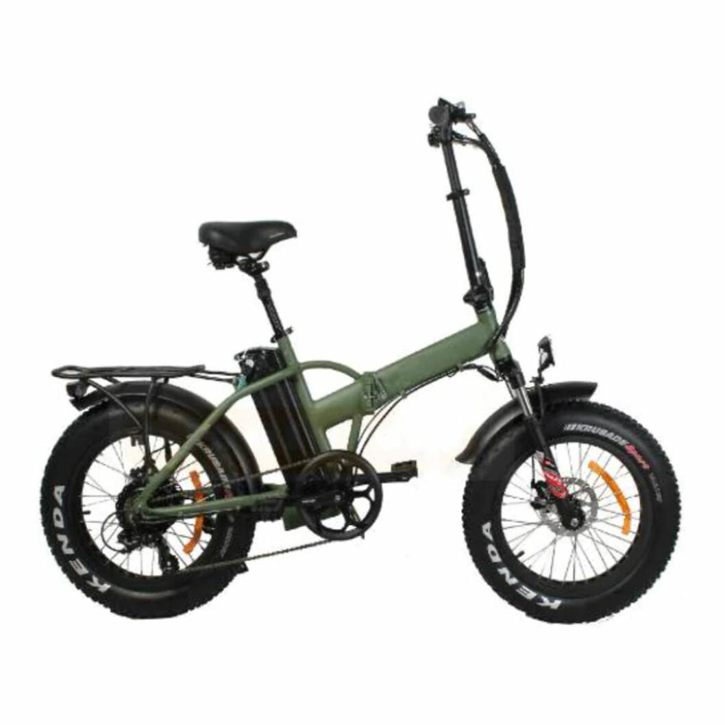 Hopvikbar elcykel