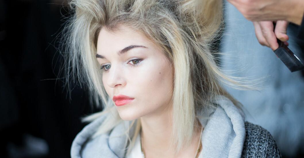 Motverka elektriskt hår