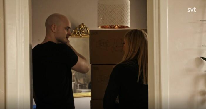 elinor sundfeldt med sin nya pojkvän Wille
