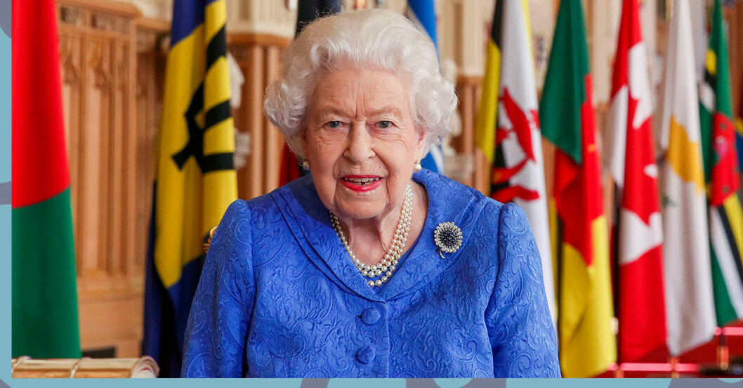 Drottningen säger i ett uttalande att hon och familjen är ledsna över att höra hur Meghan Markle och prins Harry mått.