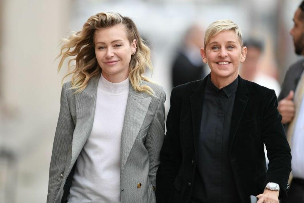 Åldersskillnad mellan Ellen DeGeneres och Portia de Rossi