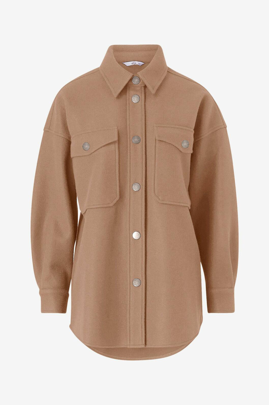 Brun skjortjacka från Ellos