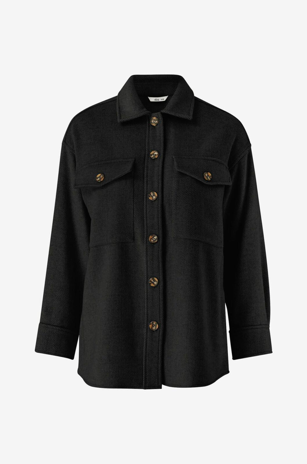 Svart skjortjacka från Ellos