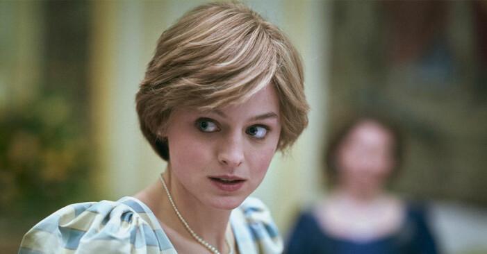 Emma Corrin gör rollen som prinsessan Diana i fjärde säsongen av The Crown.