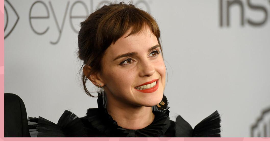 Emma Watsons visar upp sin nya frisyr – se förvandlingen