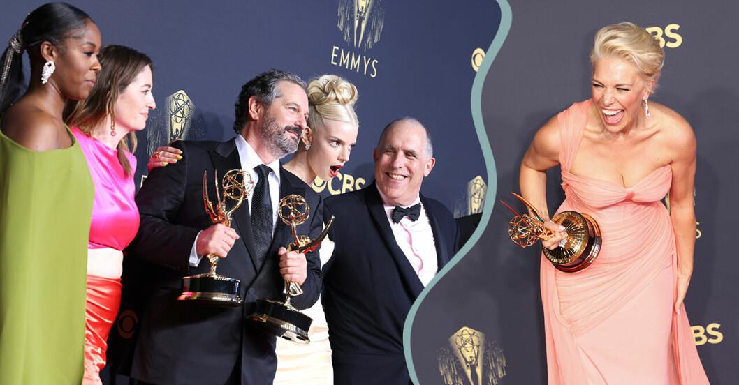 Emmygalan 2021: Här är vinnarna i alla kategorier