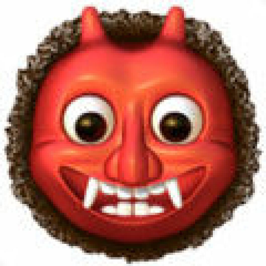 Emoji japanese ogre