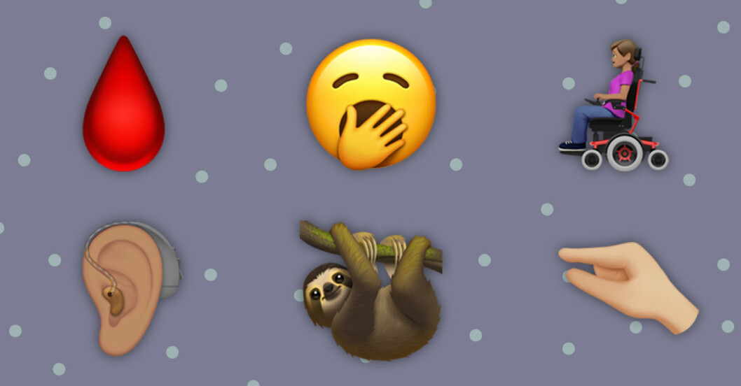Höstens nya emojis 2019.