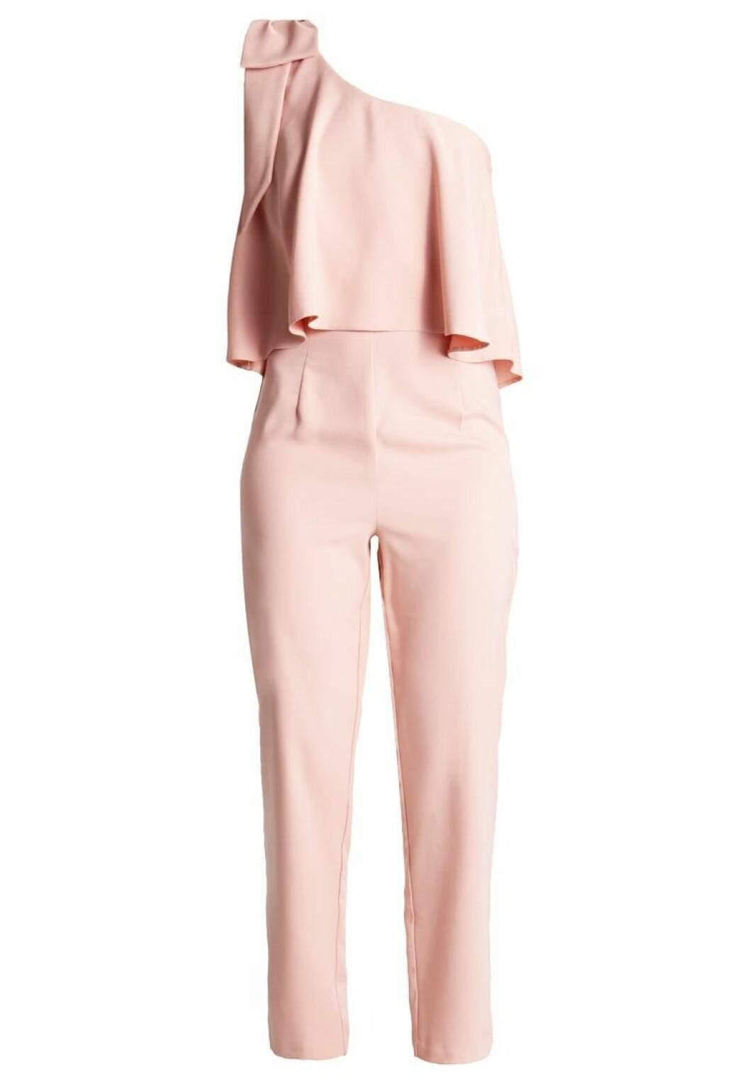 enärmad jumpsuit rosa