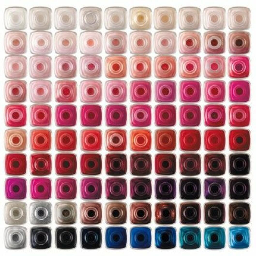 Essie nagellack färger.