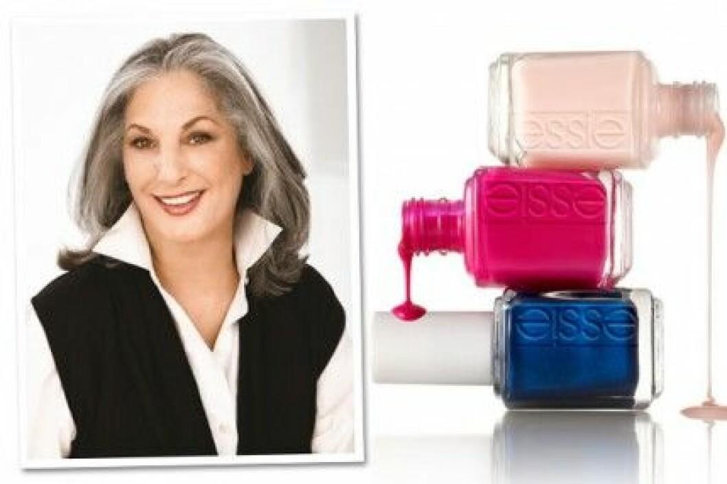 Essie Weingarten är kvinnan bakom Essies framgångsrika nagellack.