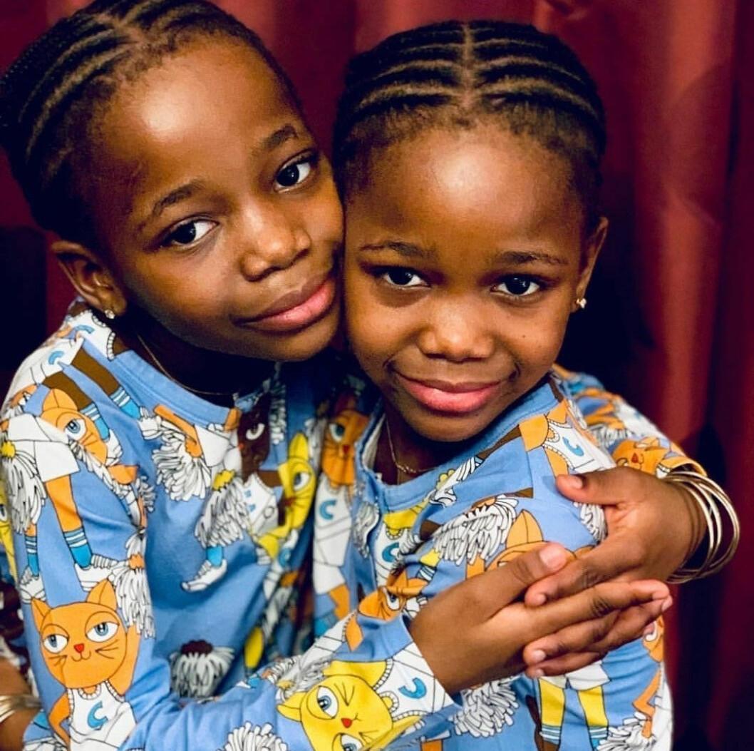Estere och Stella Ciccone Mwale