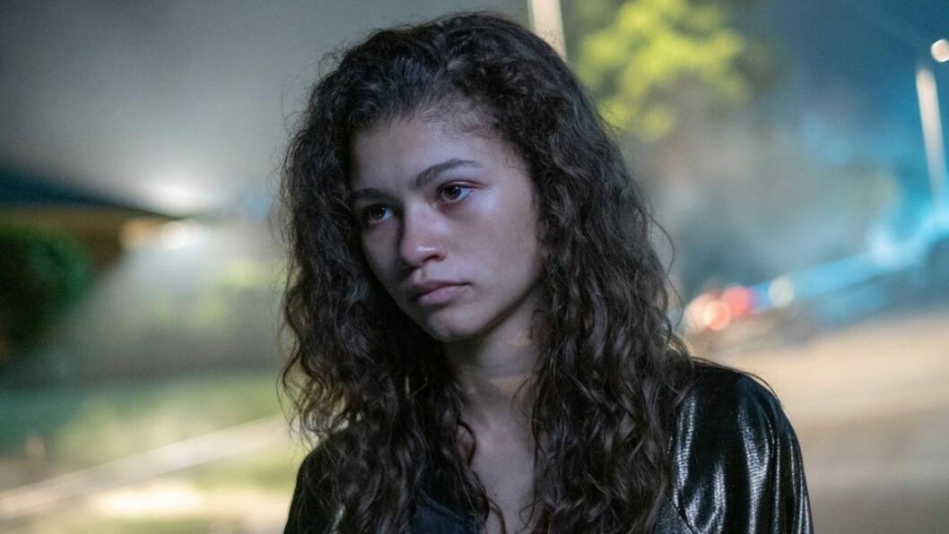 Zendaya som Rue i Euphoria på HBO.