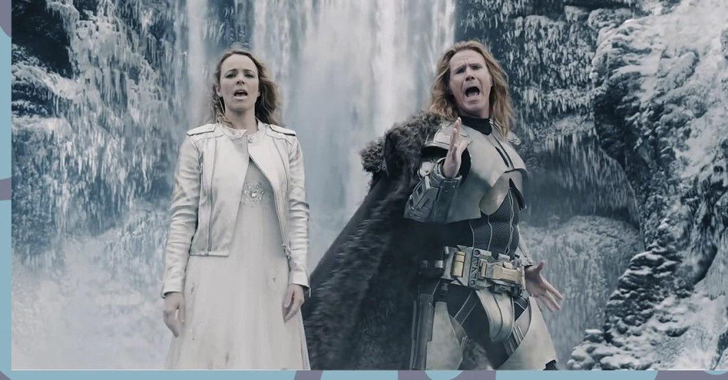Will Ferrell och Rachel McAdams i Eurovision Song Contest – the story of Fire Saga