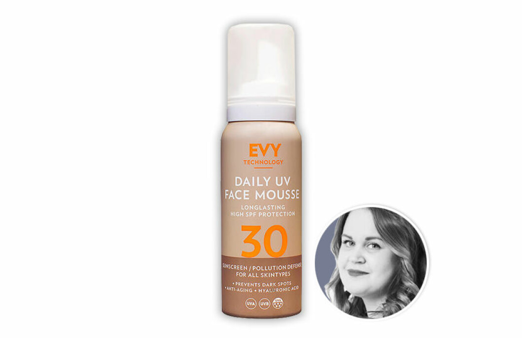 Evy Daily UV Face Mousse