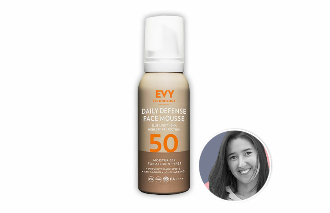 EVY Technology Daily Defence Face Mousse