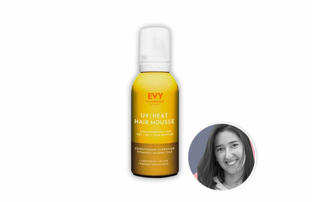 Evy Technologys UV/Heat Hair Mousse