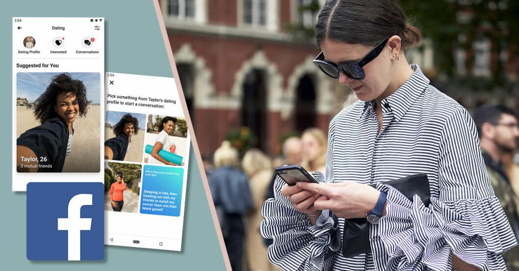 Facebook Dating –Facebooks datingapp kommer snart till Sverige