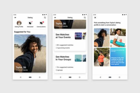 Nu lanseras Facebooks dejtingtjänst i Sverige