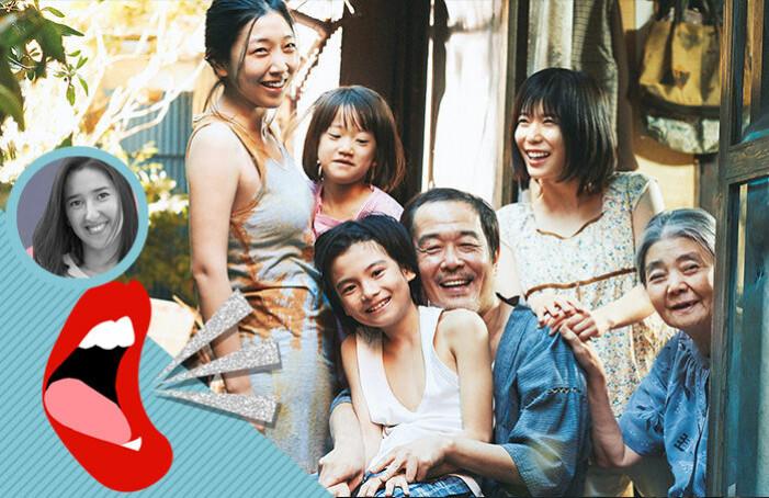 Familjen i filmen Shoplifters.