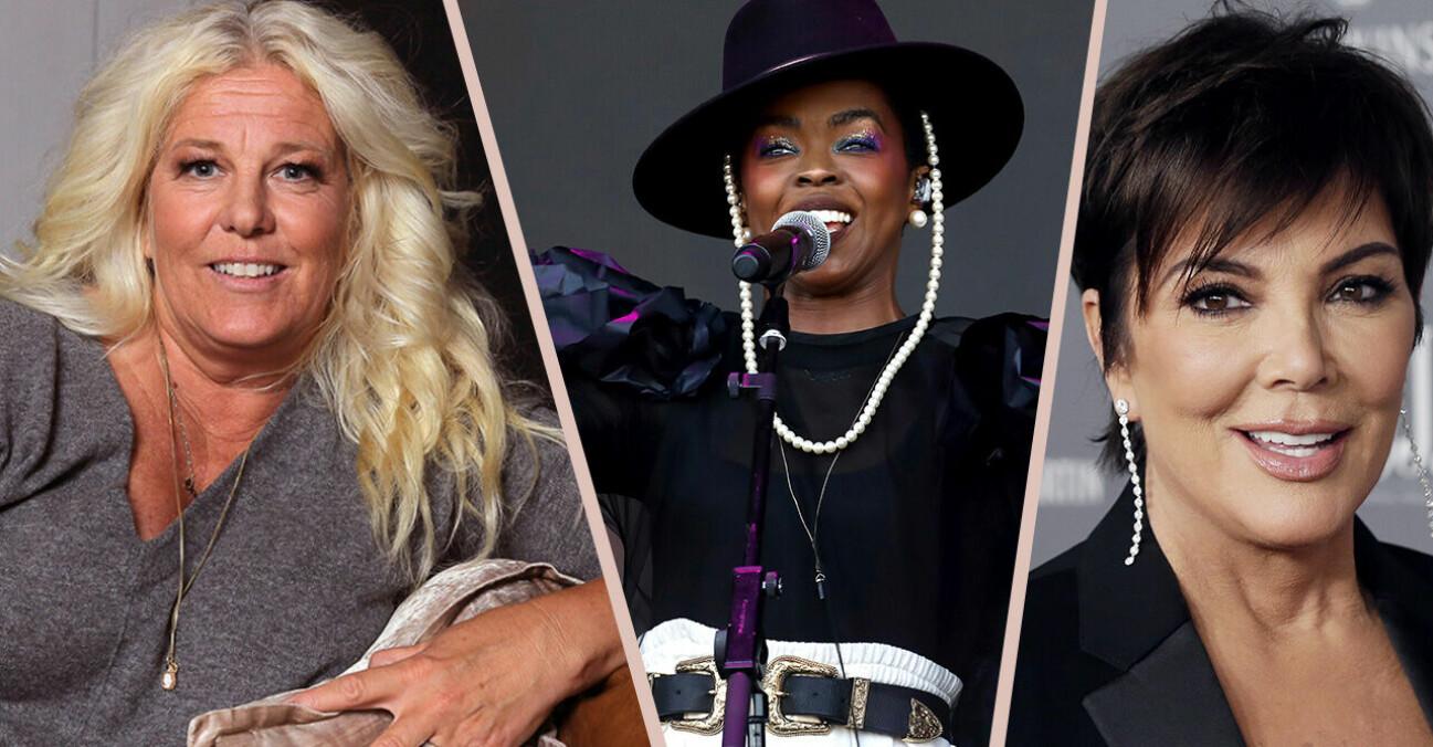 Mia Parnevik, Lauryn Hill och Kris Jenner