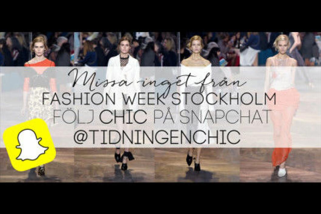 fashion week stockholm 2016