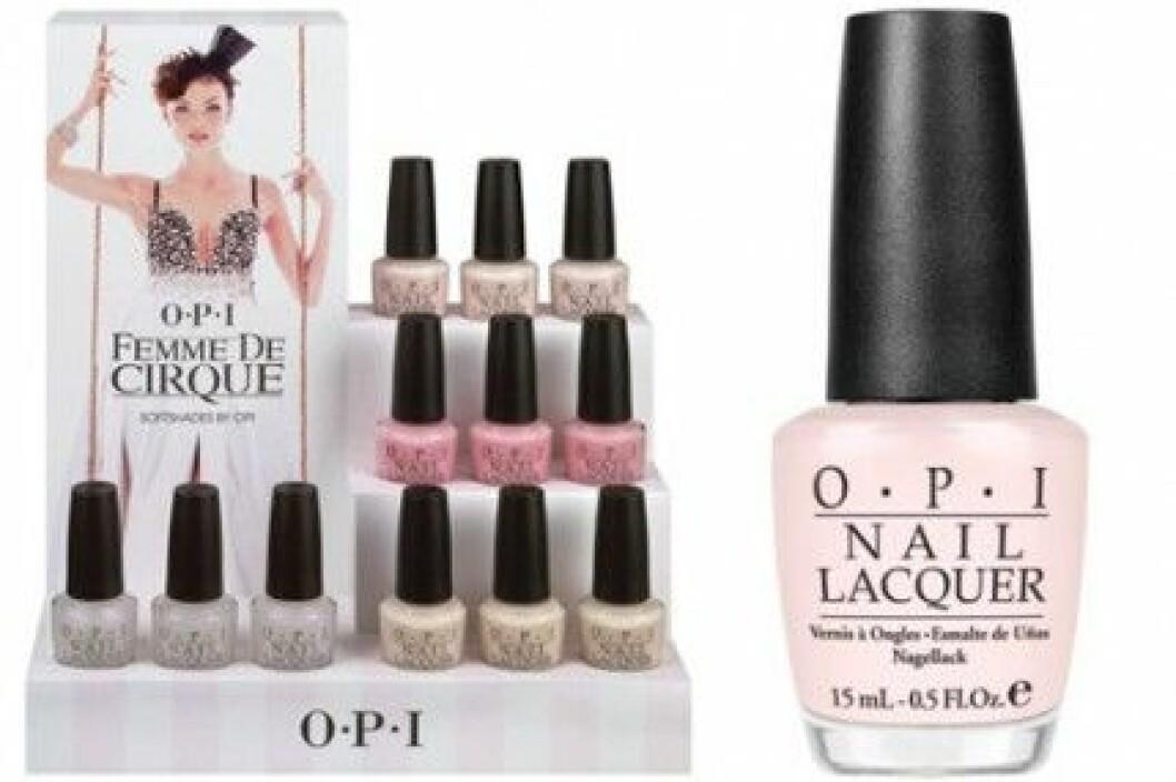 """OPI:s brudkollektion """"Femme De Cirque"""", S/S 2011."""