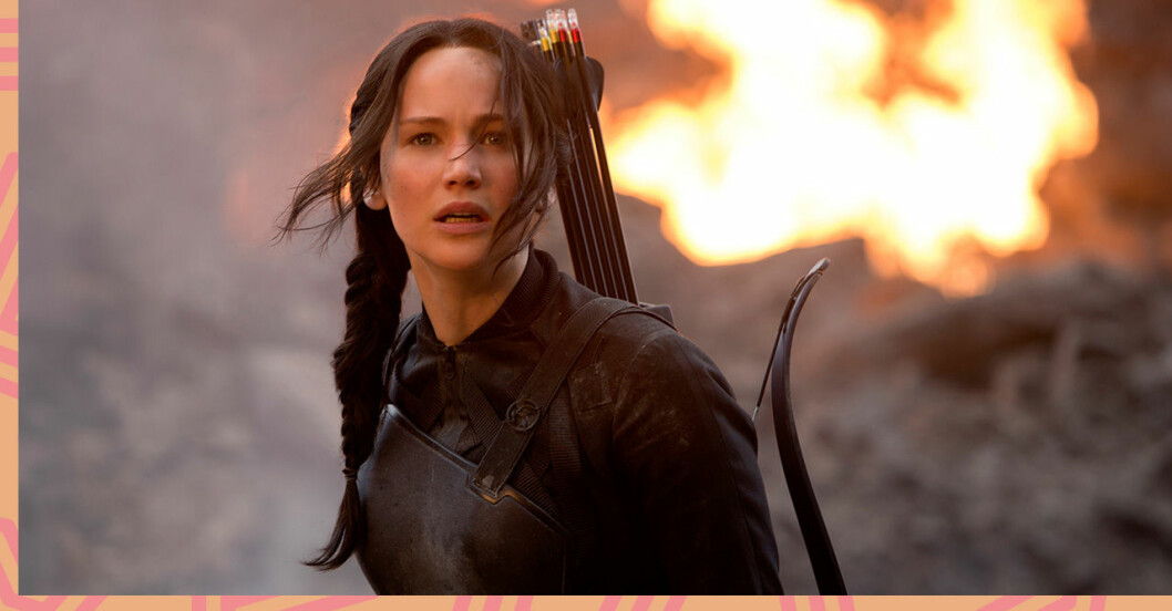 Katniss i The Hunger Games