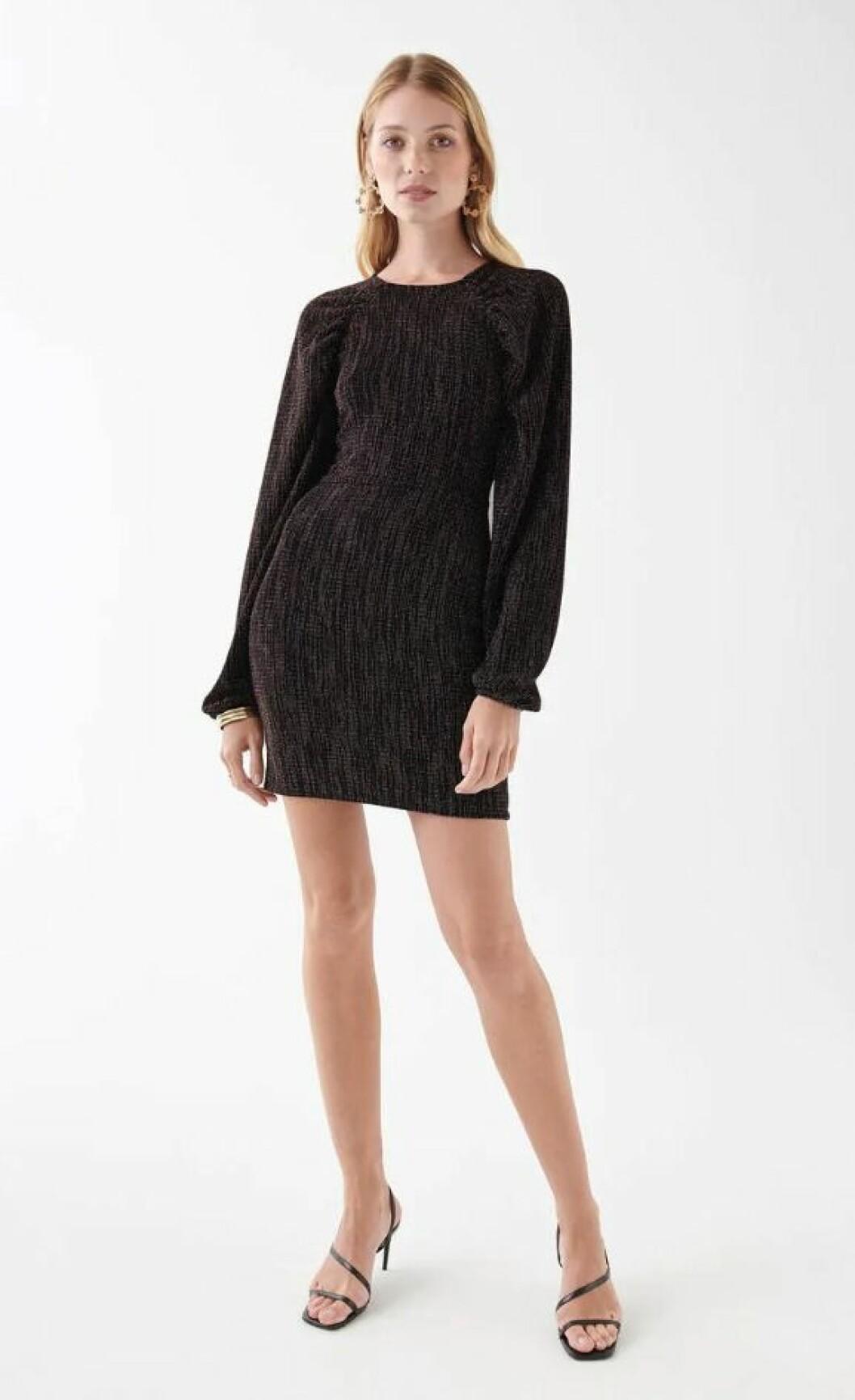 Festklänning med lång ärm för dam till 2019