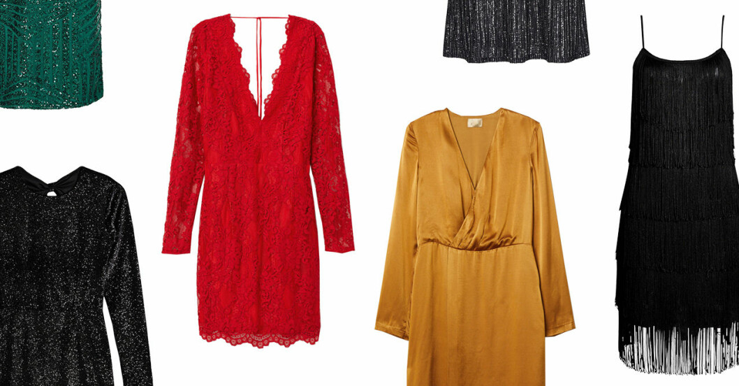Billiga festklänningar dam