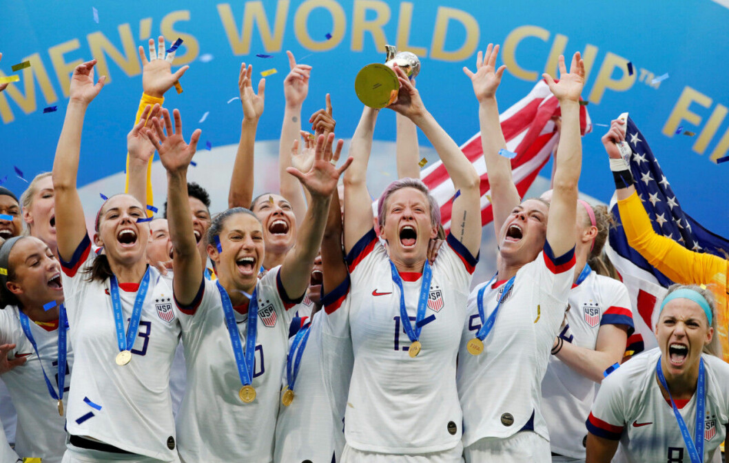 Amerikanska landslaget i fotboll.