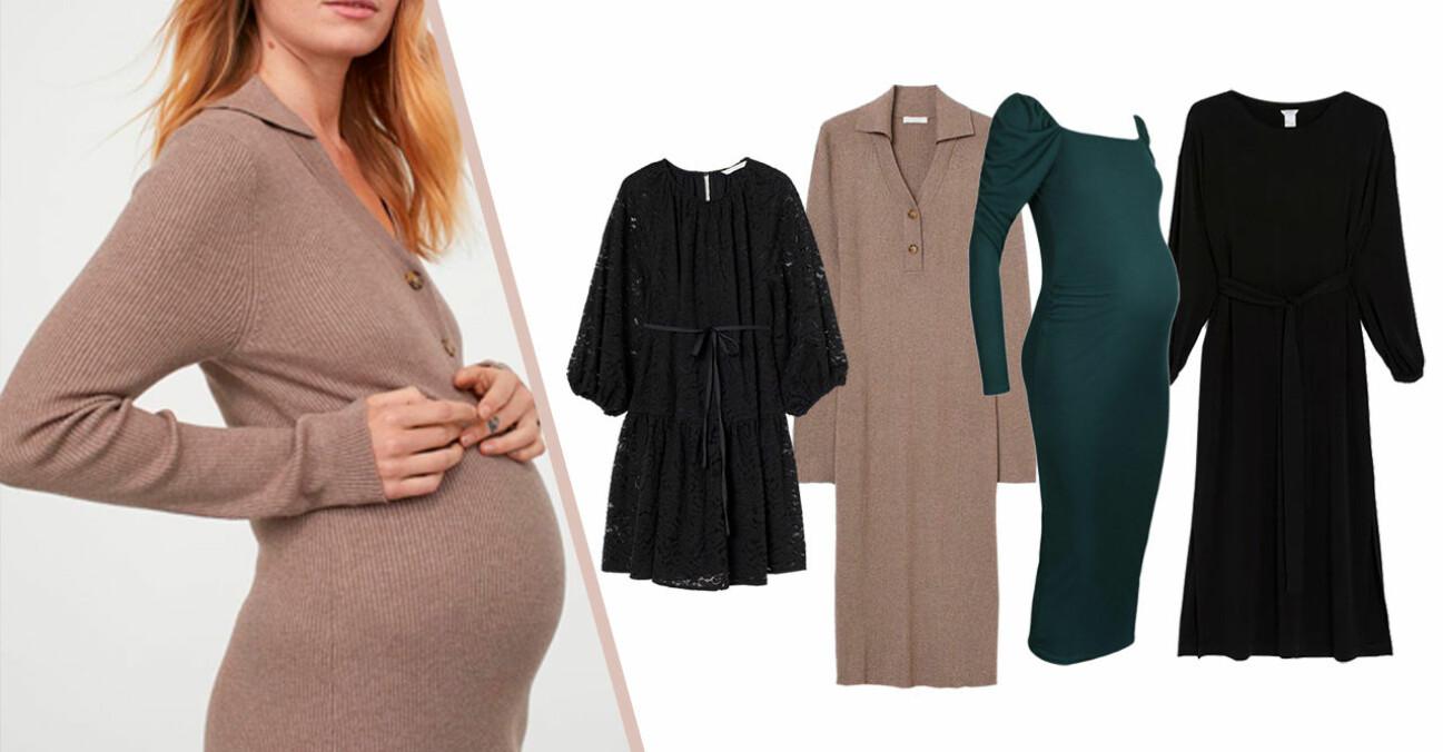Fina gravidklänningar och mammaklänningar