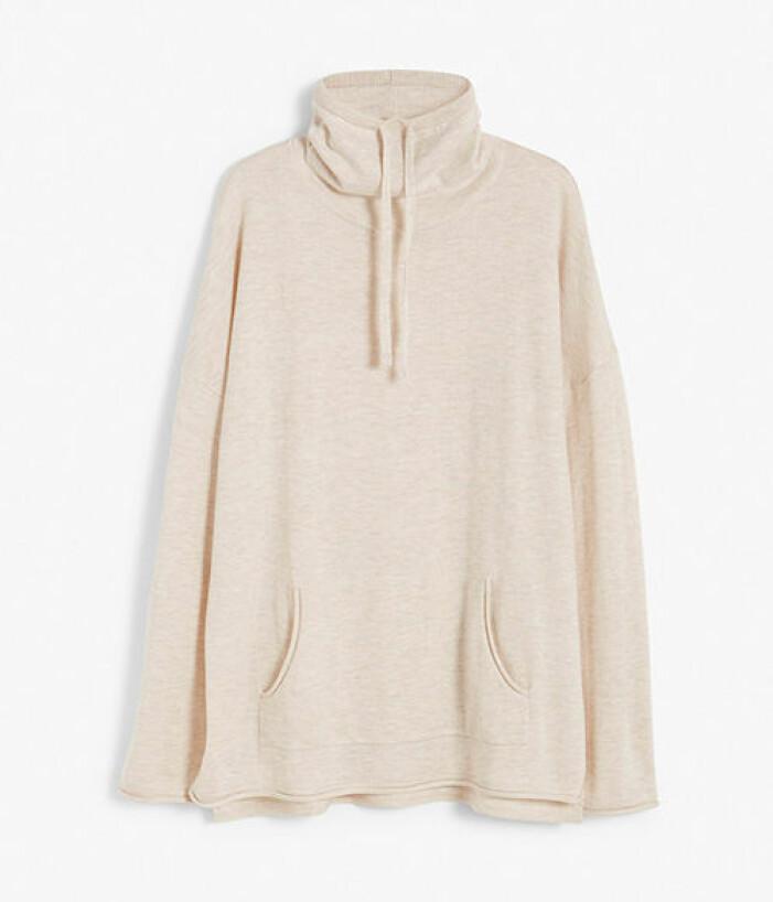 Finstickad beige tröja från Kay/day