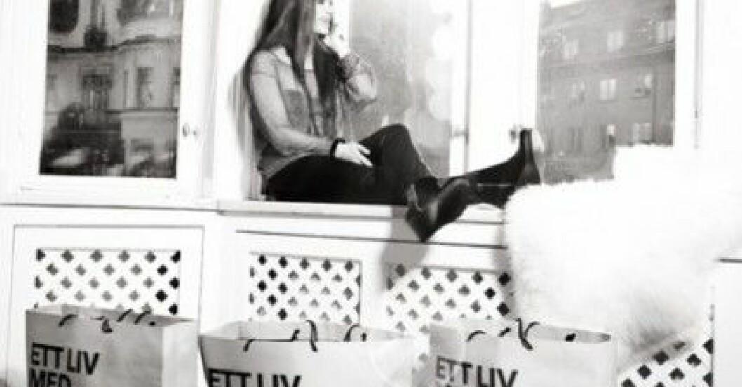 "Michaela Forni i skorna ""Thursday"" i svart från Fashion by C."