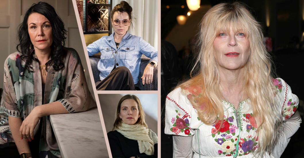 totalt 35 stora kulturpersonligheter och kändisar backar Maria Svelands intiativ Förtalskassan.