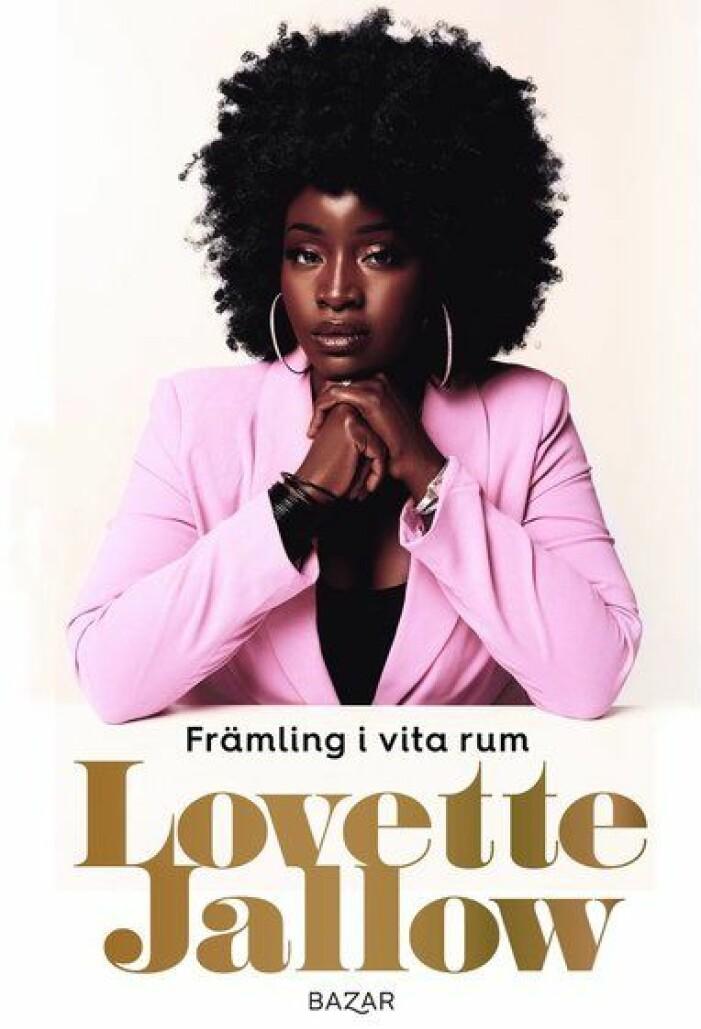 omslaget till boken Främling i vita rum av Lovette Jallow