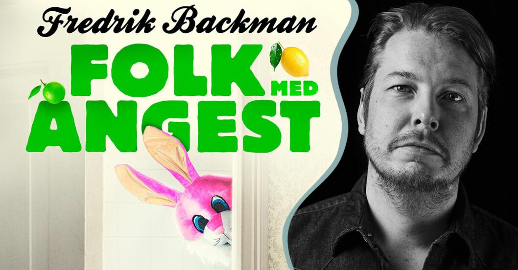 """""""Folk med ångest"""" av Fredrik Backman blir ny serie på Netflix"""