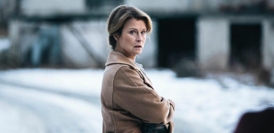 Lena Endre är en av skådespelarna i den norska serien Frikänd.