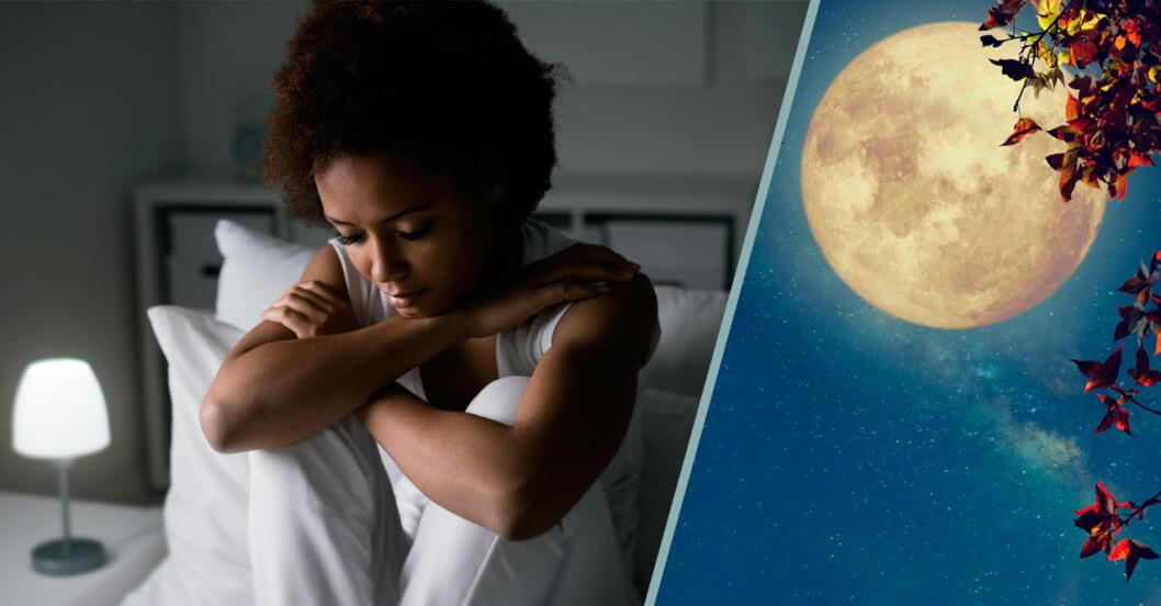 Varför kan man inte sova när det är fullmåne?