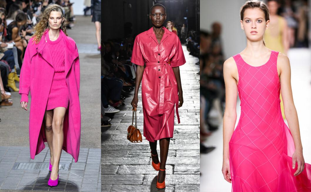 vårens trender 2017 rosa
