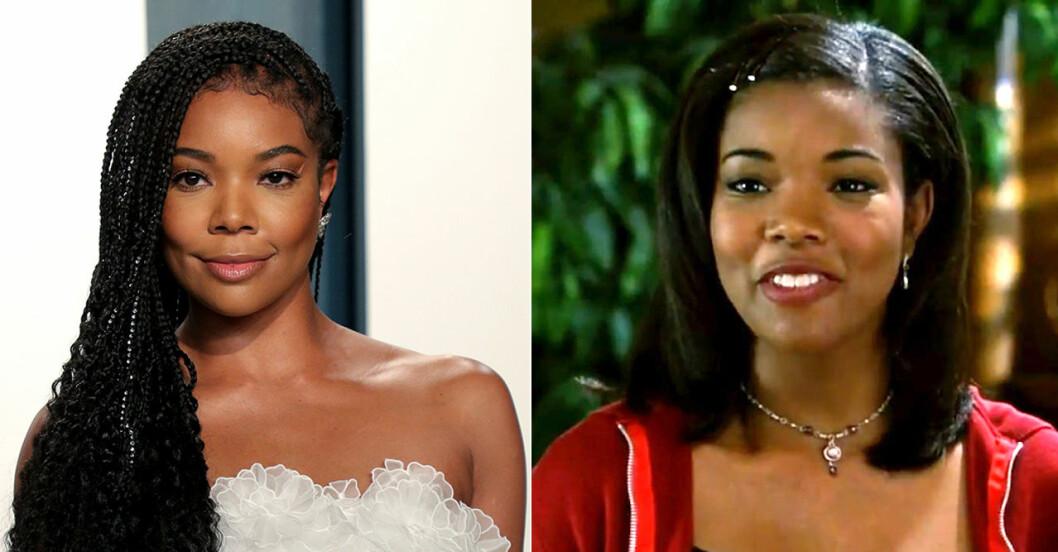 Gabrielle Union då och nu