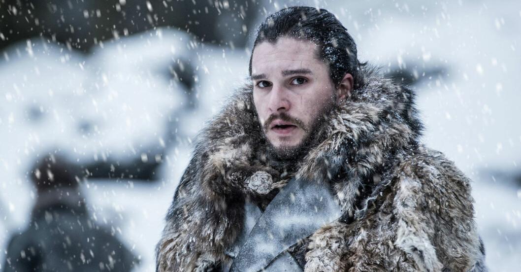 jon snow i serien game of thrones