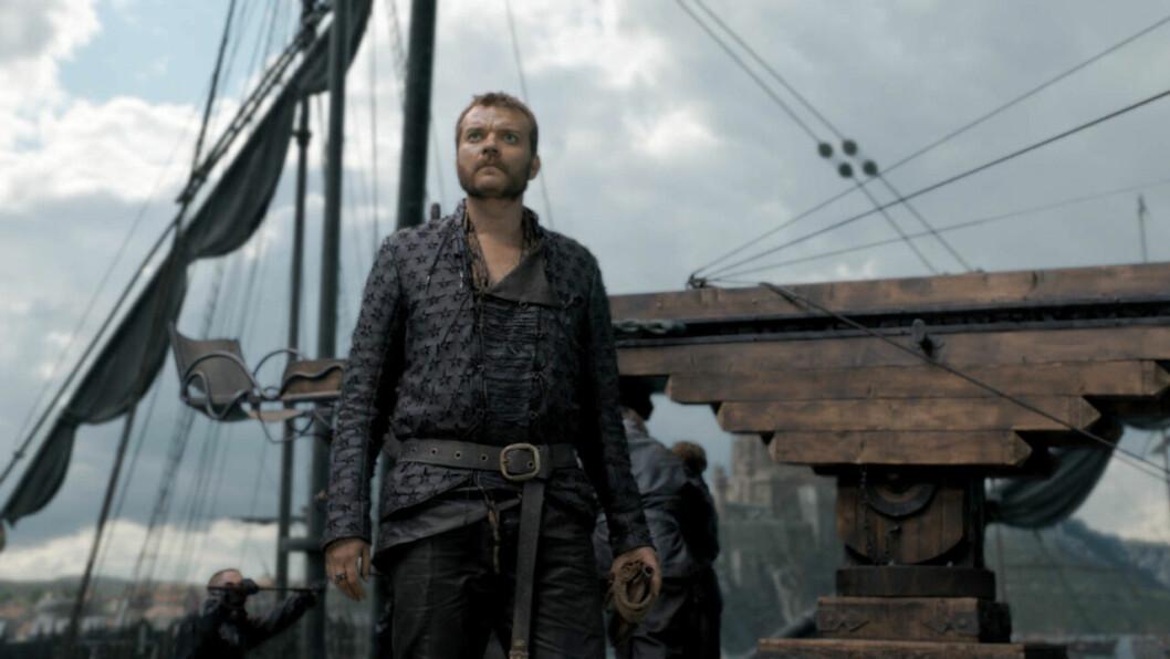 En bild på karaktären Euron Greyjoy i tv-serien Game of Thrones på HBO.