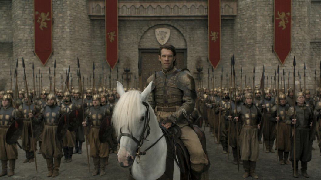 En bild på legosoldaterna Golden Company i tv-serien Game of Thrones på HBO.