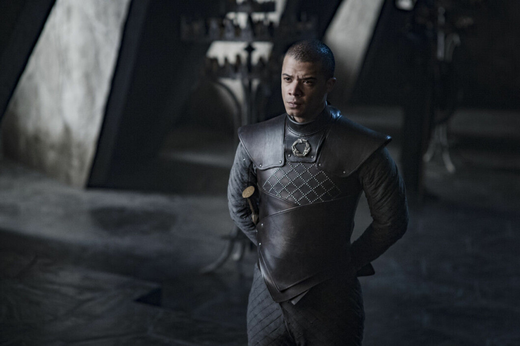 En bild på karaktären Grey Work i tv-serien Game of Thrones på HBO.