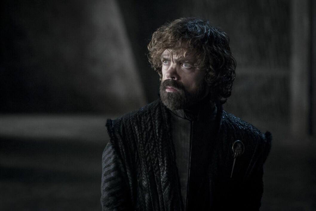 En bild på karaktären Tyrion Lannister i tv-serien Game of Thrones på HBO.