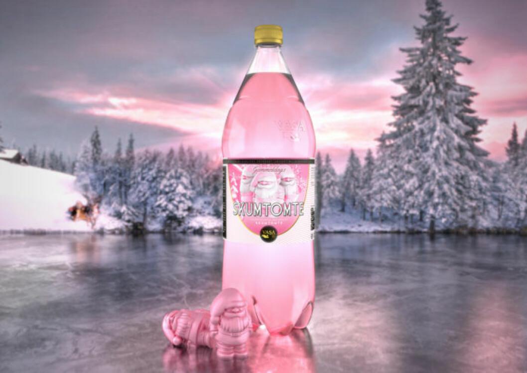 Årets julnyhet från Vasa Bryggeri är smaken Gammeldags skumtomte