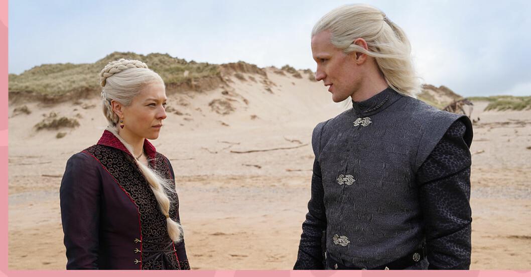 Game of Thrones uppföljare House of the dragon där Targaryen står i fokus.